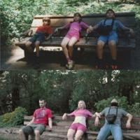 Gyerekkori fotók akkor és most