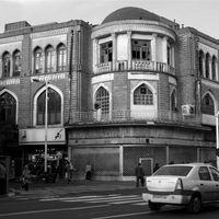 Old buildings of Tehran