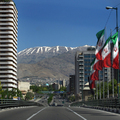 A boring day in Tehran's highways