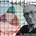 Anton Trstenjak kézírása szlovén bélyegen