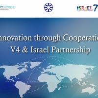 Izrael innovációs együttműködési szándéknyilatkozatot írt alá a visegrádi országokkal