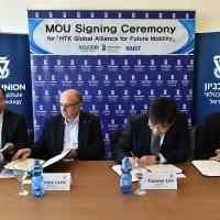 Együttműködési megállapodást írt alá a Technion és a Hyundai