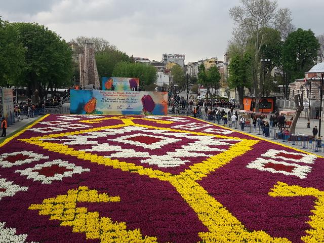 Isztambuli tulipánfesztivál 2018.