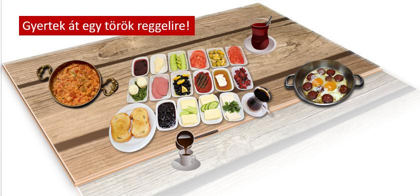 Gyertek át egy török reggelire!
