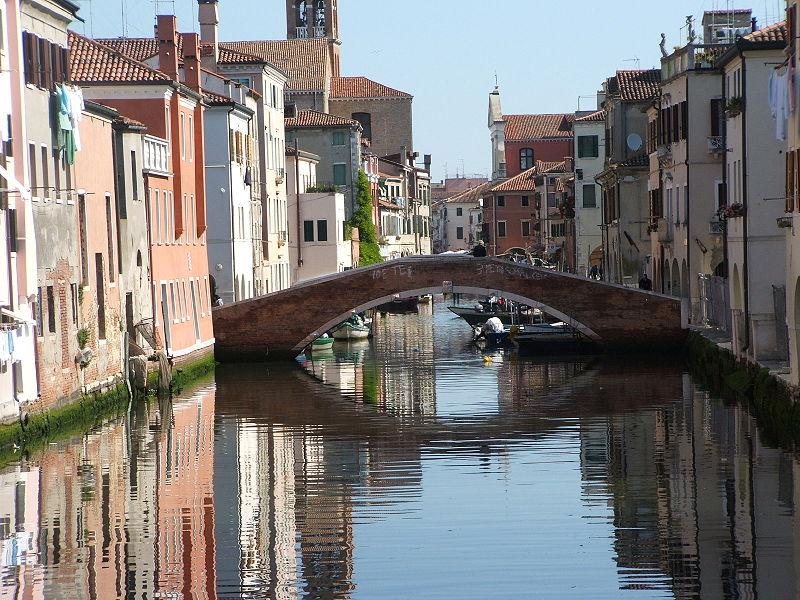 Kis olasz városkák egy percben chioggia