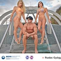 Fitness-bajnokok a Rudasban és a Széchenyiben