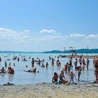Kék Hullám-díjas strandok a Balatonnál