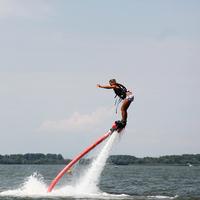 Ha Abádszalók, akkor: flyboard és parasailing!