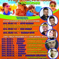 Hungarospa Hajdúszoboszló júliusi programjai