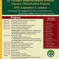 IX. Országos Vadgasztronómiai Fesztivál