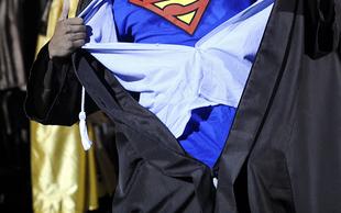 Emlékfoszlány - Diploma előtt