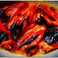 Mézes-chilis csirkeszárnyak