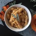 Sütőtökös gnocchi, zsályás fűszeres vajjal