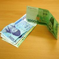 Fluoreszkáló pénz....