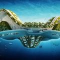 Futurisztikus jövőképek...Úszóvárosok 2060 ból......