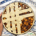 Fehér liszt, cukor, tojás és tejtermék mentes almás pite!