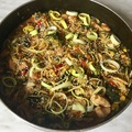 Csirkés - zöldséges kínai tészta, gluténmentesen