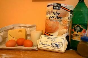 Sajtos kosárkák glutén és laktózmentesen