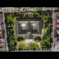 Múzeumkert - most és a tervezett favágás után