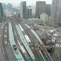 Utazás a sinkanszennel Tokióból Oszakába