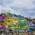 A hatalmas freskó, ami varázslatossá tett egy mexikói környéket