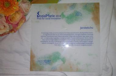 SozialMarie-díjazott a Járókelő!