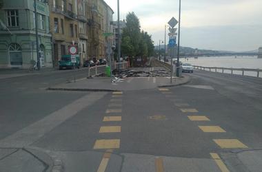 Járókelő Megoldókulcs: Ismét használhatatlan az EuroVelo 6 egy szakasza