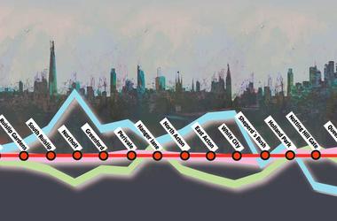 Szegények és szupergazdagok a londoni piros metrón