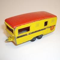 Matchbox Eccles Trailer Caravan felújítás