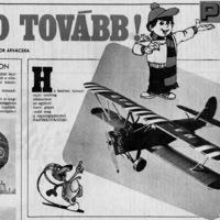 Papírmakettek a régi újságokban és a TV-ben
