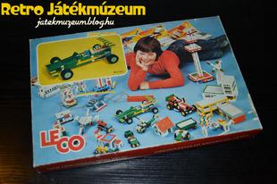 Jugoszláv Leco építőjáték