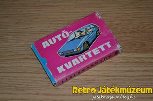 Autókvartett 1977 (Kék)