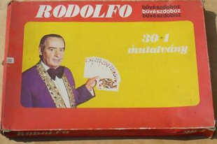 Rodolfo Bűvészdoboz: 30+1 mutatvány