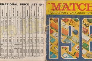 1968-as Matchbox katalógus