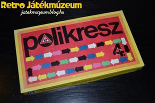 Polikresz 4 közlekedési játék