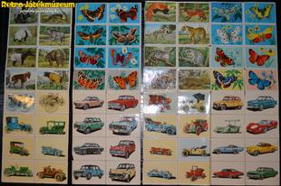 Gyűjthető kártyák a múltból
