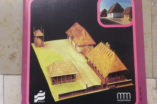 Retro papírmakettek – a Néprajzi Múzeum sorozat