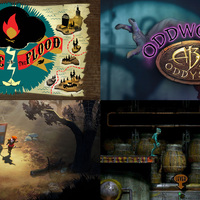 Ingyen The Flame in the Flood és Abe's Oddysee
