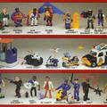 Kevésbé ismert játékvonalak - 1.rész - A rendőrakadémia figurák