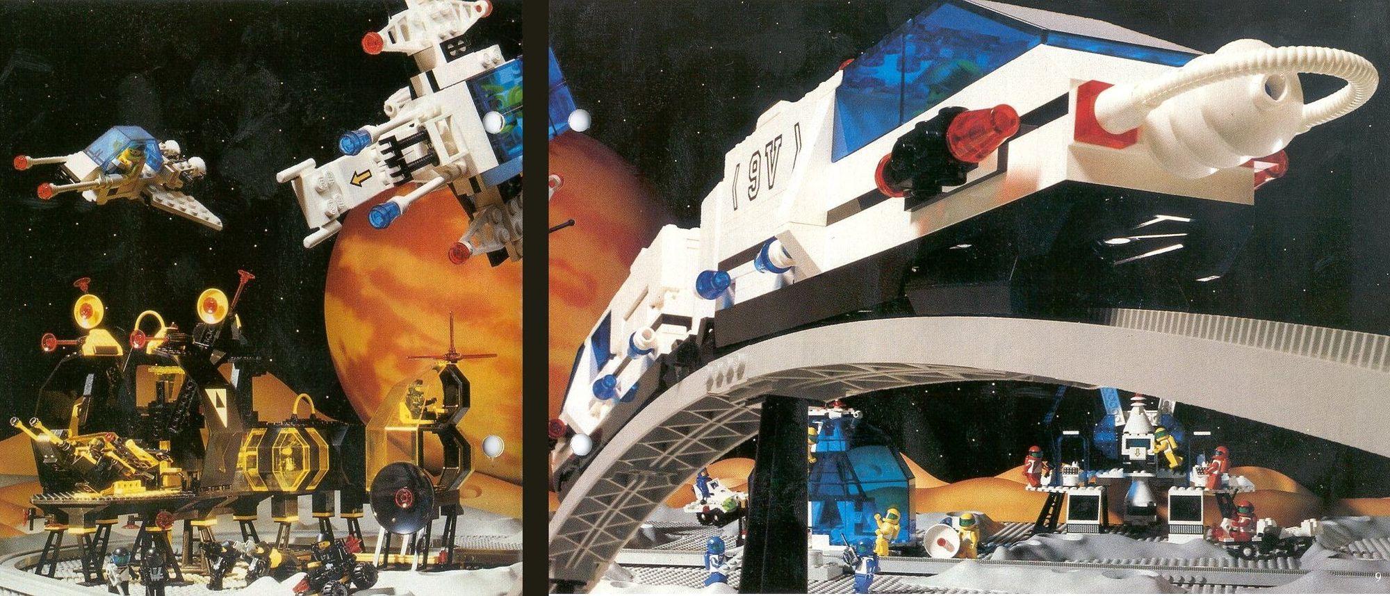 A Lego Space története 2.rész - A Futuron, a Blacktron és a Space Police