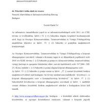 Péterfalvi tegyen rendet az OKTVF-en - Rémálom a zöldhatóságnál IV.
