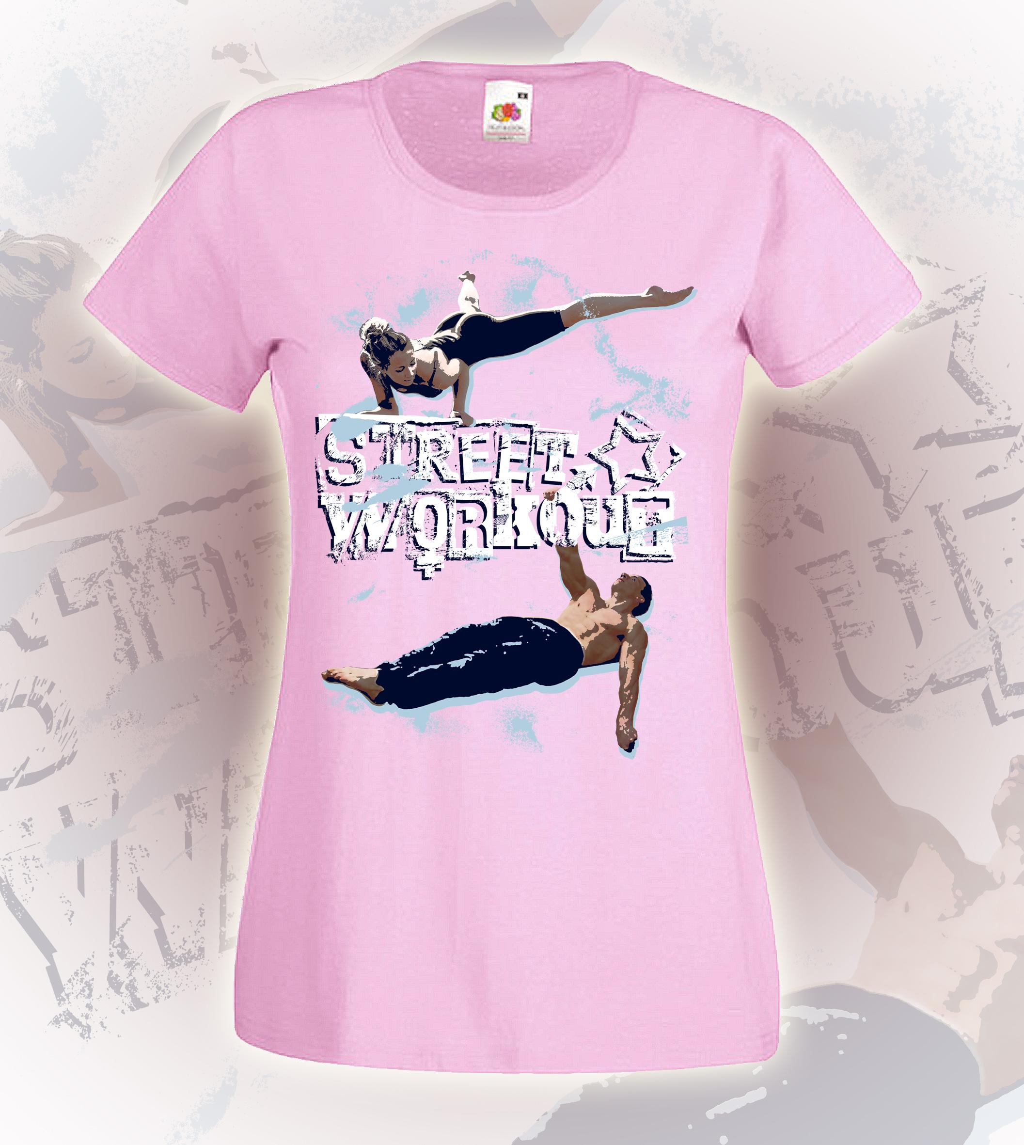 rózsaszín póló - lány