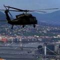 Black Hawk Budapest felett