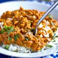 Lencsés csirkés curry