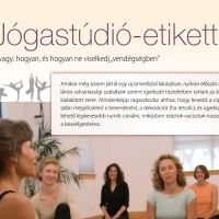 JógaBlog cikkek a nagyvilágban