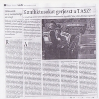 Alaptalanul vádaskodik a Magyar Nemzet