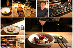 A bar, offering 3 Michelin-starred dessert tasting menu?