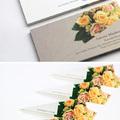 Virágcsokor névjegykártya