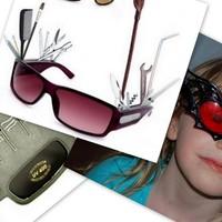 Különleges napszemüvegek