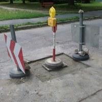 Csatornafedél javítás a Mikes Kelemen utcában